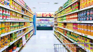 ديكور محل مواد غذائية