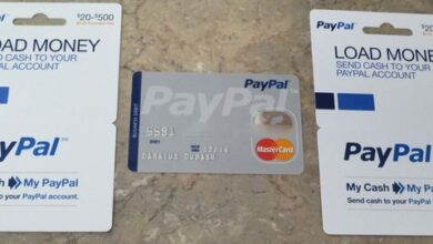 بطاقة باي بال مسبقة الدفع