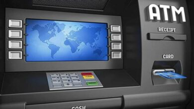 كيفية السحب من الصراف الالي ATM
